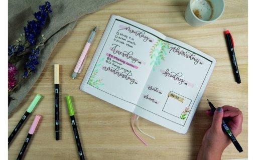 Tombow Creative Journaling Kit Pastel 3