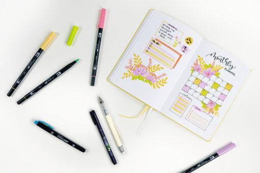 Tombow Creative Journaling Kit Bright 2