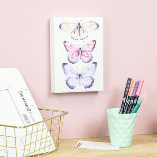 Tombow Watercoloring Canvas Set Elegant Butterflies 1