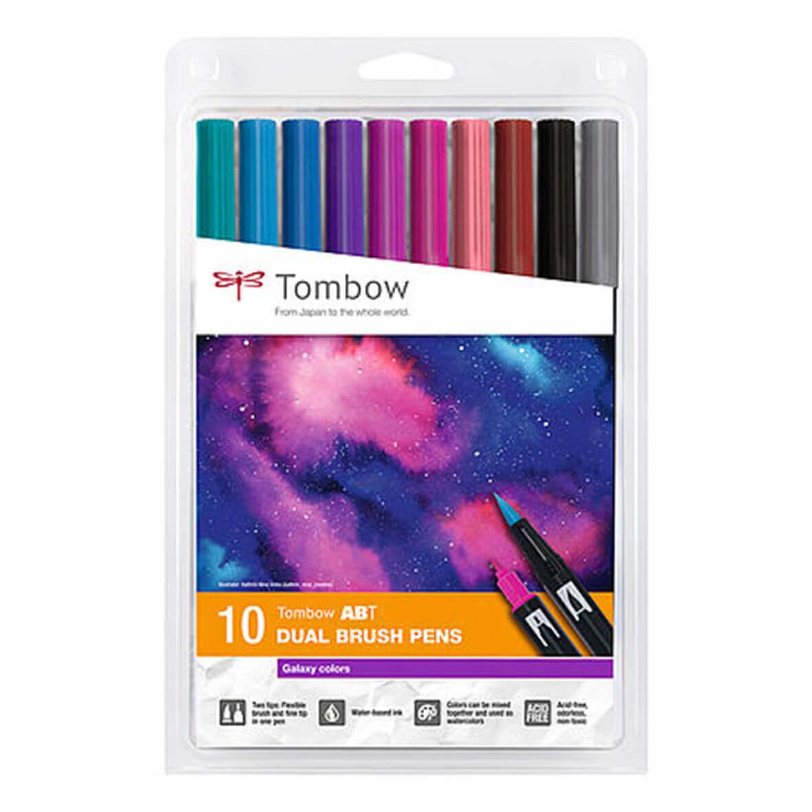 Tombow ABT set van 10 Galaxy Colors