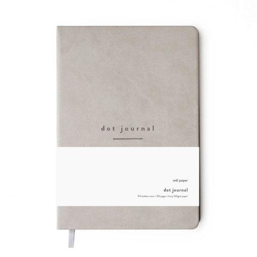 Mål Paper Dot Journal Grey