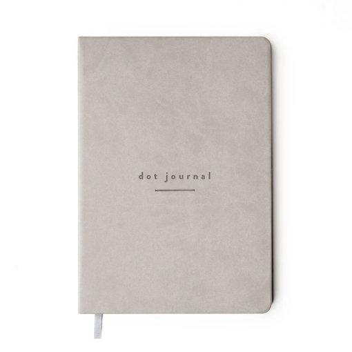 Mål Paper Dot Journal Grey 1