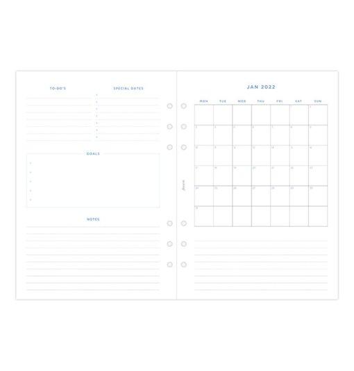 Filofax navulling organizer A5 - Garden Agenda 2022 8