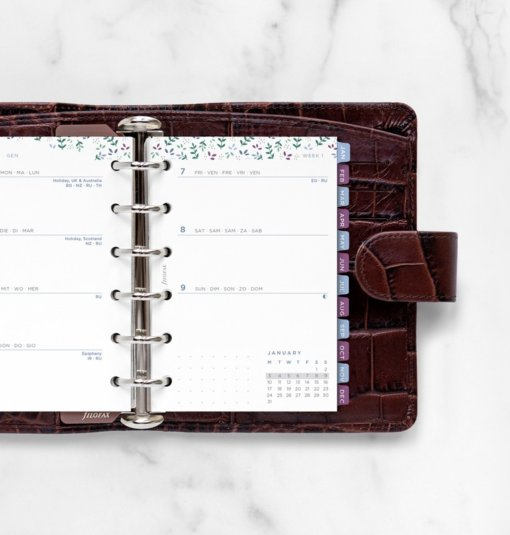 Filofax navulling Organizer Pocket - Garden Agenda 2022 1
