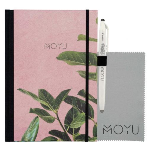MOYU-notitieboek-A5-premium-Pink-Planter