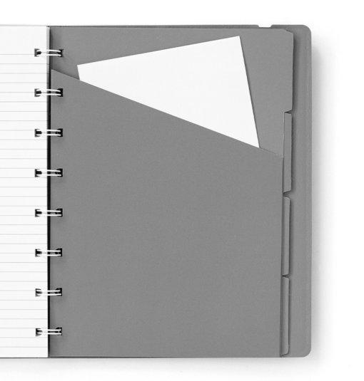 Filofax notitieboek A5 Graphite 3
