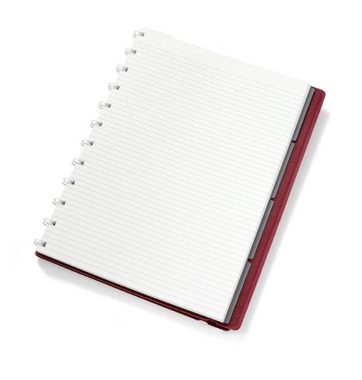 Filofax notitieboek A4 Burgundy 2