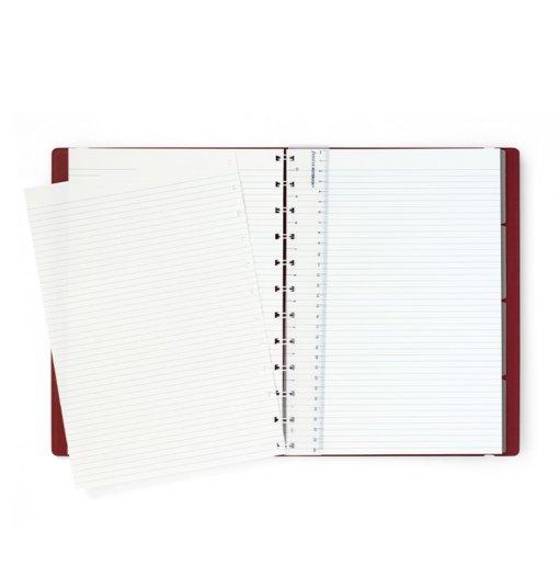 Filofax notitieboek A4 Burgundy 3