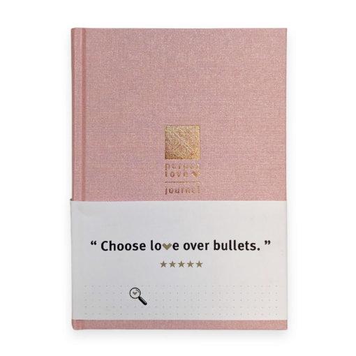 Purpuz Love Journal Pink