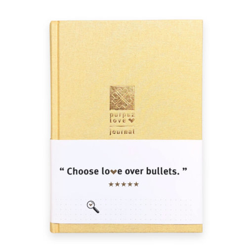 Purpuz Love Journal Champagne