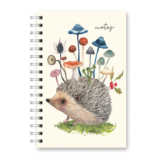Studio Oh Spiraal Hedgehog With Mushrooms