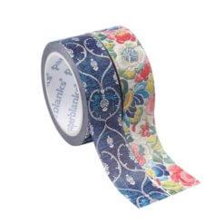 Paperblanks Washi Tape Blue Velvet & Pear garden