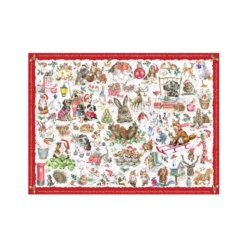 Wrendale Puzzel Country Set Christmas